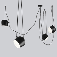 Custom Modern Spider Industrial Pendant Lights For Diving Room Restaurants Kitchen Pendant Lamps E27 Fixtures LED