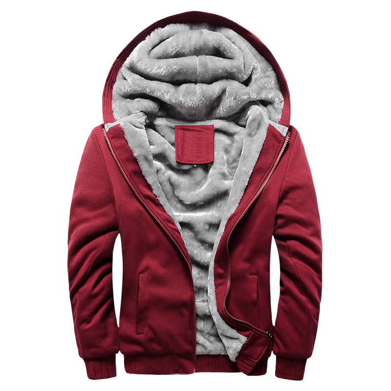 Slim fit fleece jacket