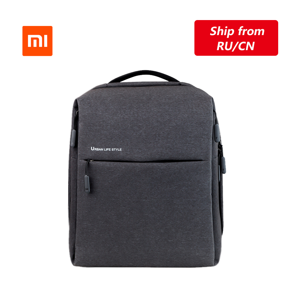 Original Xiaomi Mi Backpack Urban Life Style Shoulders Bag Rucksack Daypack School Bag Duffel Bag Fits 14 Inch Laptop Portable(China)