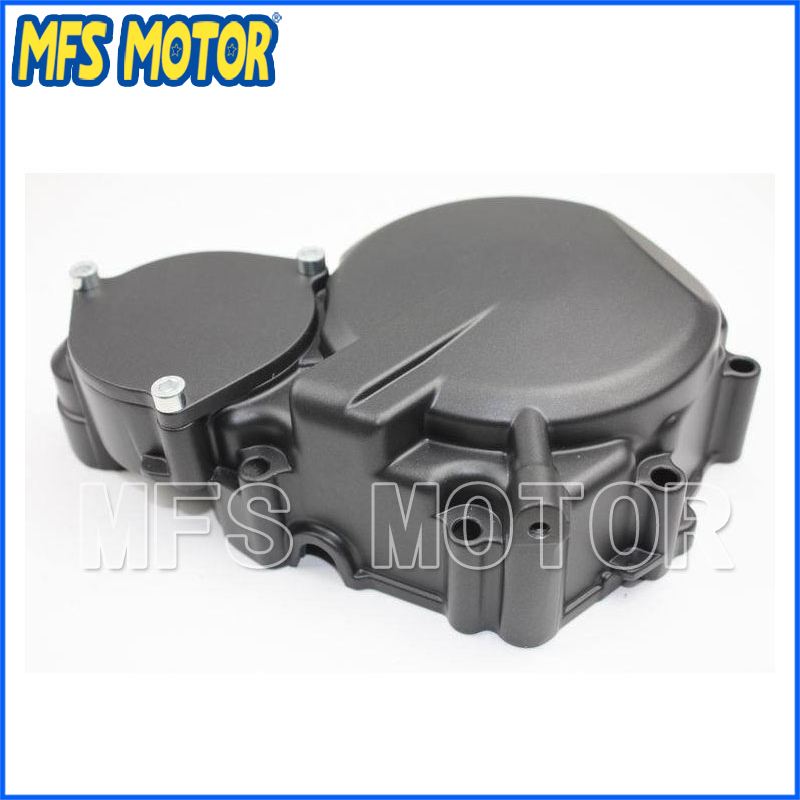Freeshipping motorcycle parts OEM  Left side Engine Stator cover for Suzuki GSXR600/750 2008 2009 Black aftermarket free shipping motorcycle part engine stator cover for suzuki gsxr600 750 2006 2007 2008 2009 2013 black left side