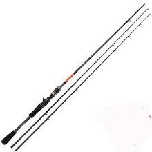 Free Express Trulinoya Brand  Double tip 2.1m M / ML casting Rod carbon  fishing rod fishing pole fishing tackle