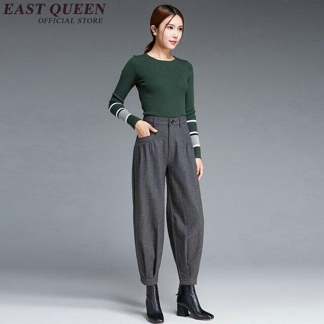 72b945a94fa Harem pants women baggy cargo pants for women Business casual clothing women  cargo pants DD101 C