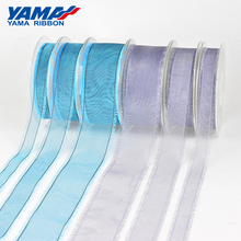 YAMA Ombre Organza Fringe Ribbon 16mm 25mm 38mm 200Yards/Roll for Diy Dress Accessory House Decoration Wedding Gift
