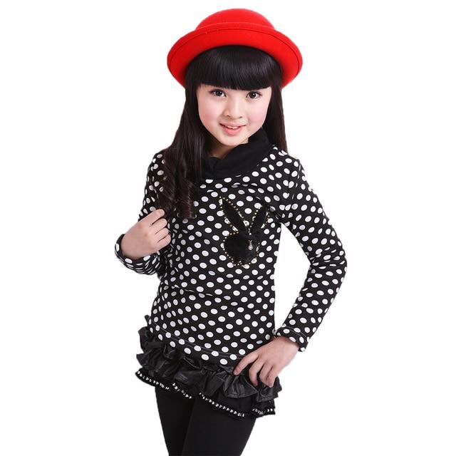 be4014593 New 2016 Autumn Winter Sweater Cartoon Rabbit Brand Fashion Polka ...