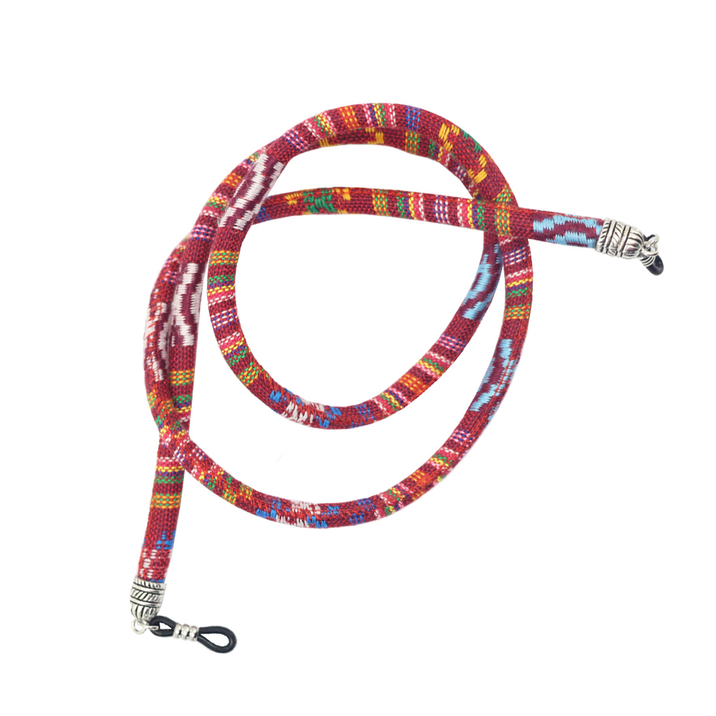 Multicolor Round Cord Sunglasses Neck Cord Strap Eyeglass Sunglasses String Chain for Women Man Reading Glasses Chain