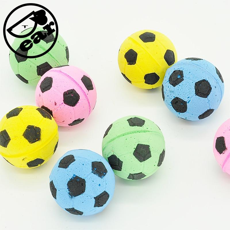 Cat EVA Ball 20pcs per lot  Soft Foam Soccer  design Play Balls For cat soccer balls size 4