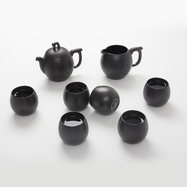 Drip set yixing tea pot cup set kung fu tea