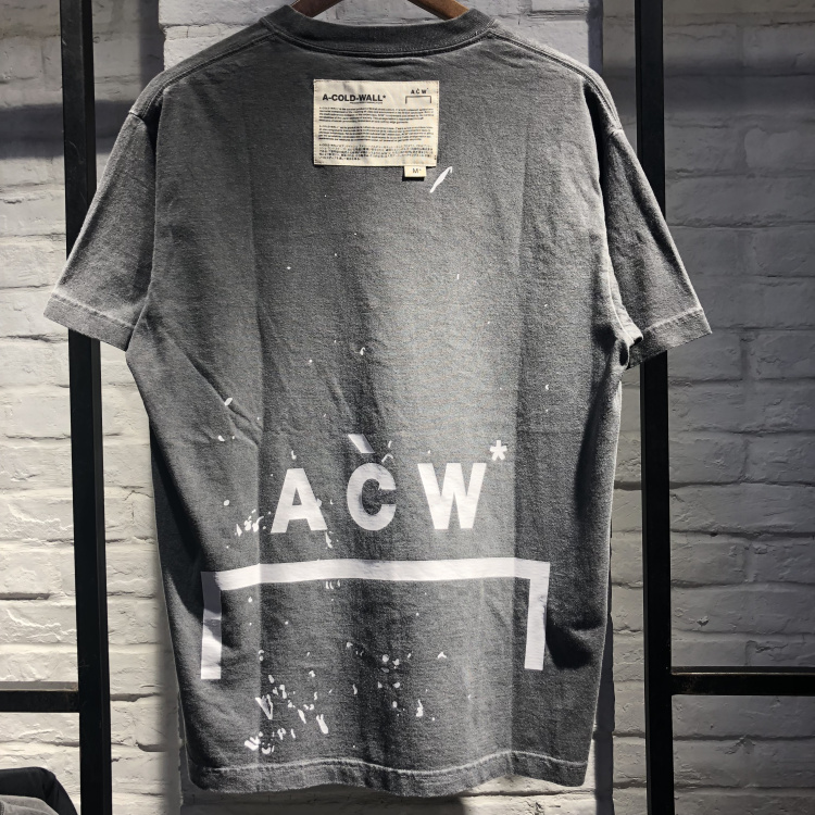 Best Quality A-COLD-WALL ACW T-Shirts Men Women Cotton Loose ACW Top Tees Casual A-COLD-WALL ACW T-Shirts