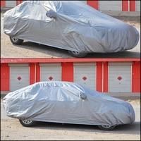 Universal 5 3m Full Car Rain Cover Waterproof Sunshade Heat Protection Outdoor Anti UV Sun Cover