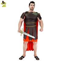 Men's Guard Hercules Roman Gladiator Costume Roman Warrior Disguise Fancy Dress Halloween Costume Party Cosplay Men Warriors