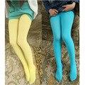 Бесплатная доставка Летние Тонкие Бархатные Дети колготки Многоцветный Девушки Танцуют носки