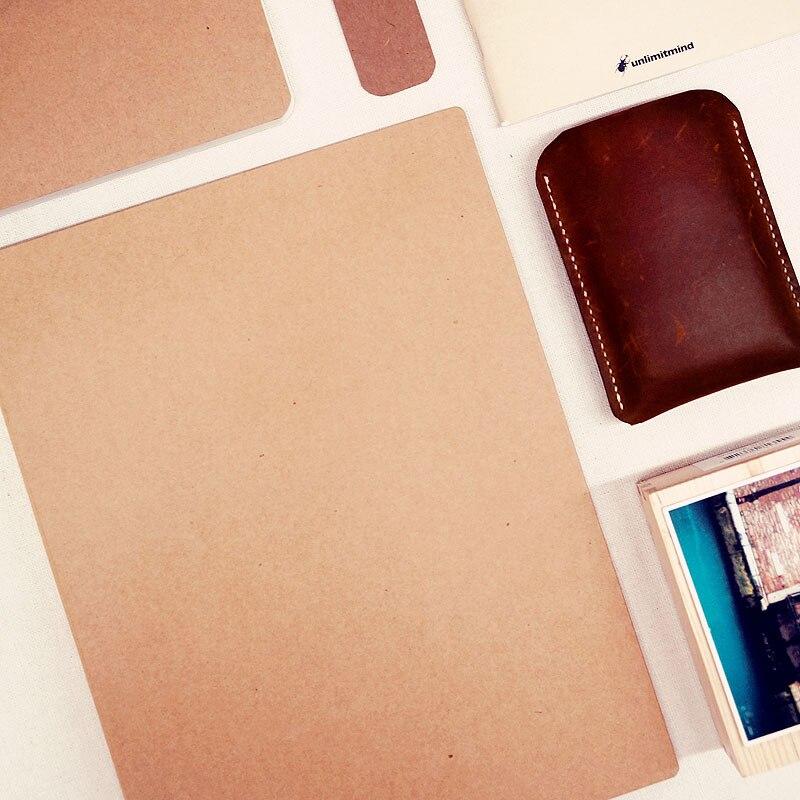 A4 Craft paper Cover Creative Gift Handmade Diy Self-Adhesive FIlm Large Capacity Fotoalbum Photo Album Men Photo Album Adhesive