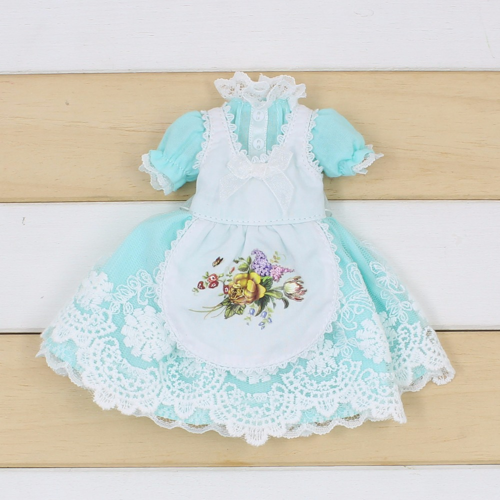 Neo Blythe Doll Apron Clothes 8
