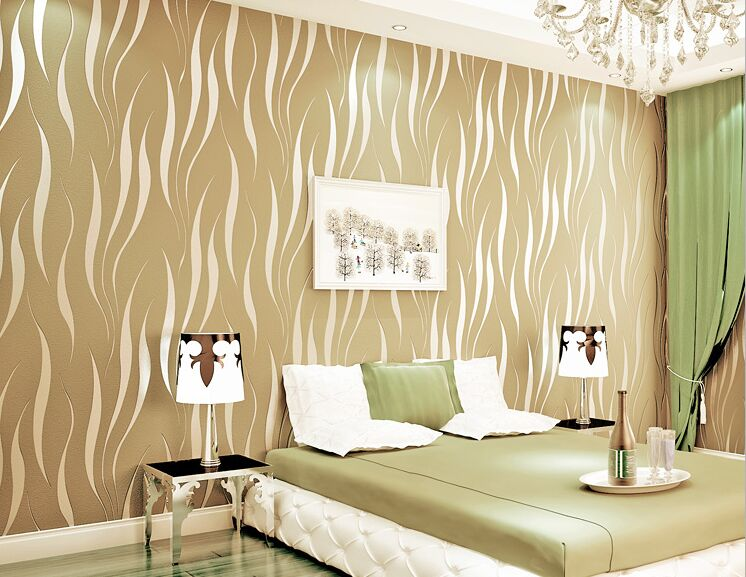 simple wave stripes Wall Paper Roll EPP Non Woven cement Wallpaper Home Decor Retro Stone Wallpaper for Walls Papel Pintado non woven bubble butterfly wallpaper design modern pastoral flock 3d circle wall paper for living room background walls 10m roll