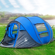 Throw tent outdoor automatic tents throwing pop up waterproof camping hiking tent