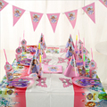 96PCS princess Sofia birthday party decorations Event & Party Supplies birthday party decorations kids paw patrol paper plates