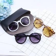 KRMDING 2019 fashion brand kids sunglasses black childrens UV protection baby sun glasses girls boys