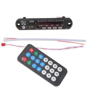 WMA AUX-récepteur Audio USB 3.5 Mm | Bluetooth TF, Radio FM, lecteur MP3, décodeur 12V, Kit voiture, lecteur MP3, planche bricolage