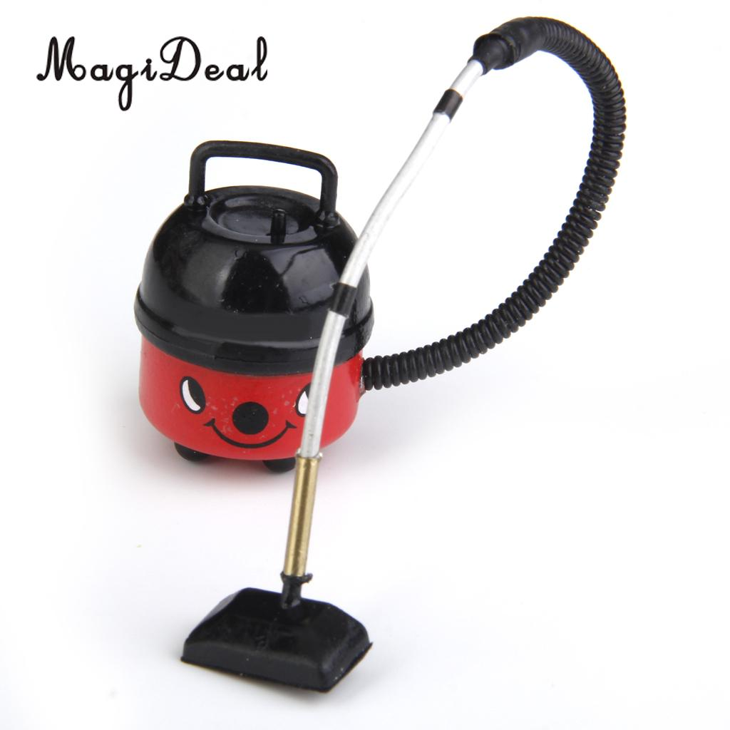 1//6 Plastic Vacuum Cleaner Dollhouse Miniature Furniture for Doll Toy