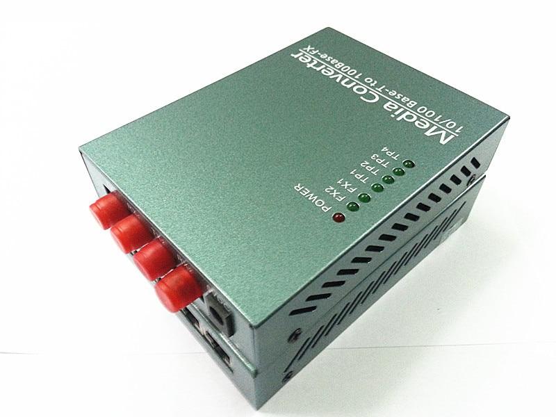 10/100M media converter Switch,4 RJ45+2Fiber with single mode dual fiber 20km 1310nm FC10/100M media converter Switch,4 RJ45+2Fiber with single mode dual fiber 20km 1310nm FC