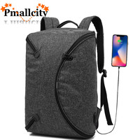 Personalized Foldable Travel Rucksack Anti thief USB charging 15.6inch laptop backpack for women Men Backpack school Bag Mochila