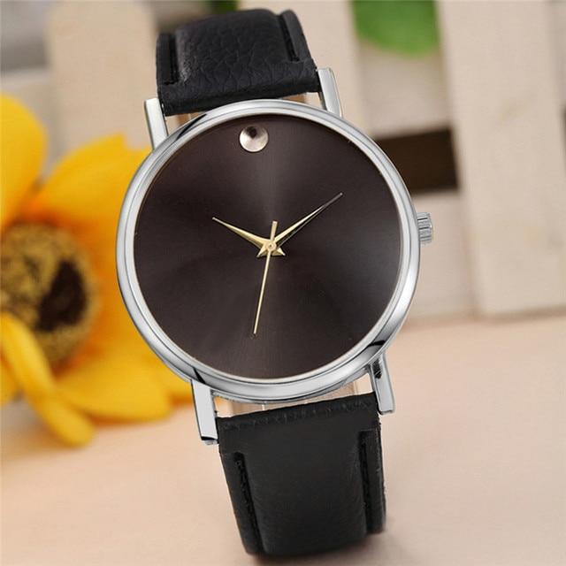 Fashion Women's Watches Wristwatches Retro Design Leather Band Analog Alloy Quar
