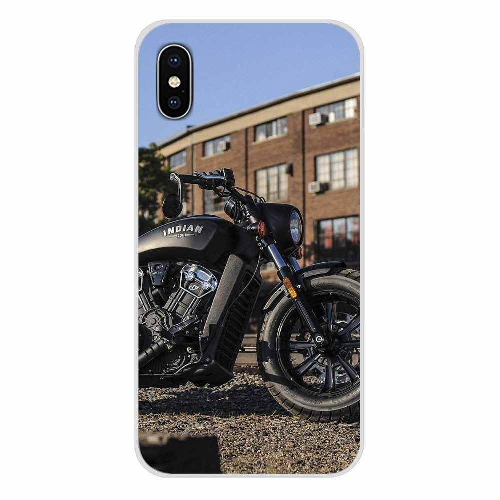 Pour Huawei G7 G8 P7 P8 P9 P10 P20 P30 Lite Mini Pro P Smart Plus 2017 2018 2019 rétro moto course moteur sac de couverture de téléphone portable