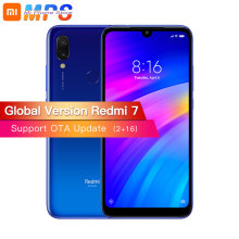 Глобальная версия Xiaomi Redmi 7 2 GB 16 GB Смартфон Snapdragon 632 Octa Core 4000 mAh 6,26 »Full screen 12 + 2 МП Двойная камера телефона