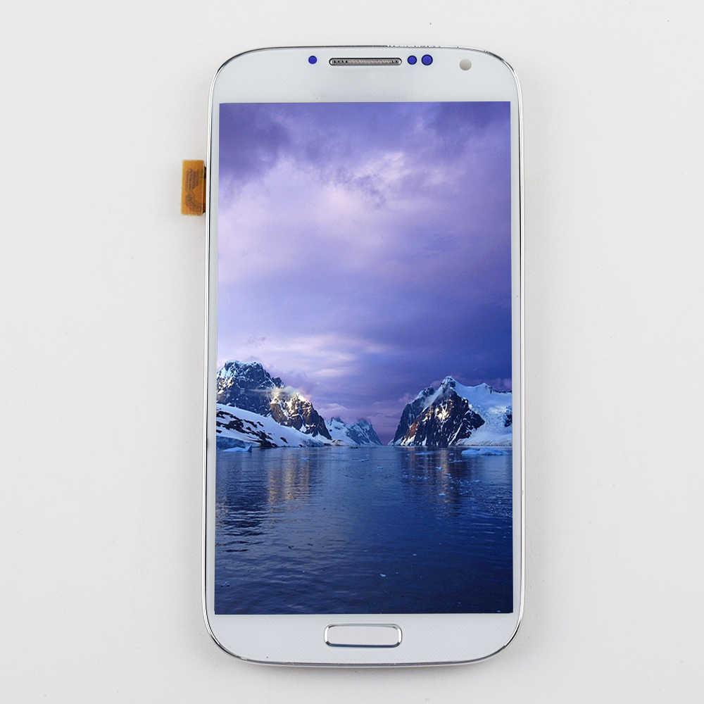 لسامسونج غالاكسي S4 عرض مجموعة المحولات الرقمية لشاشة تعمل بلمس لسامسونج غالاكسي S4 شاشة الكريستال السائل I9500 شاشة العرض I9505 I337