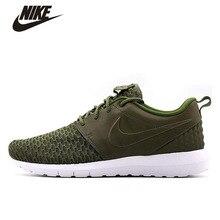 Original New Arrive NIKE ROSHE NM FLYKNIT PRM Original Men's Running Shoes Sport Shoes Nike Roshe Run Sneakers For Men