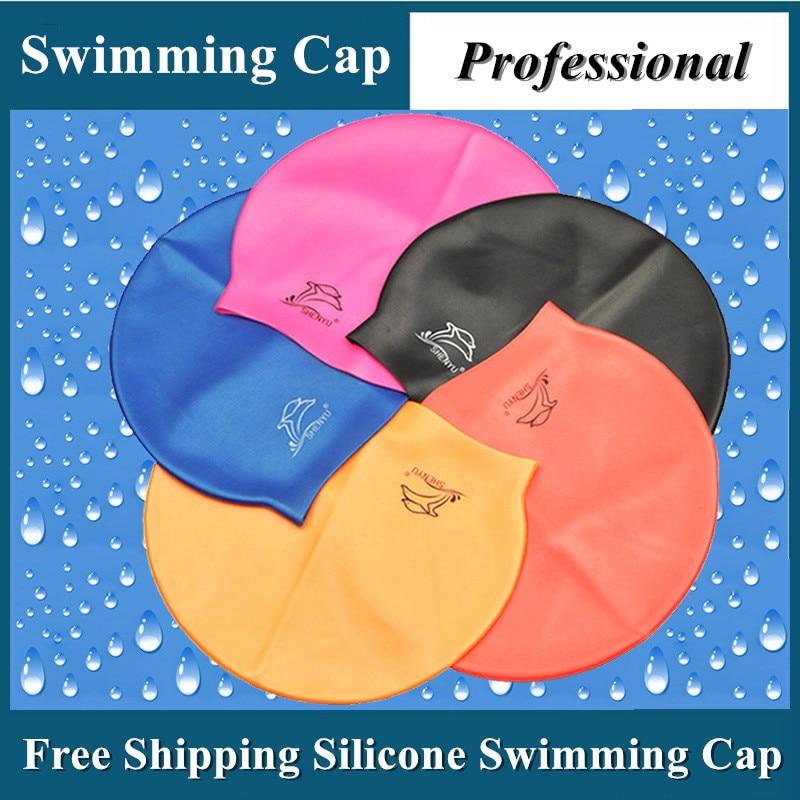 Profesional Flexible Impermeable de silicona Gorro de natación - Ropa deportiva y accesorios - foto 4