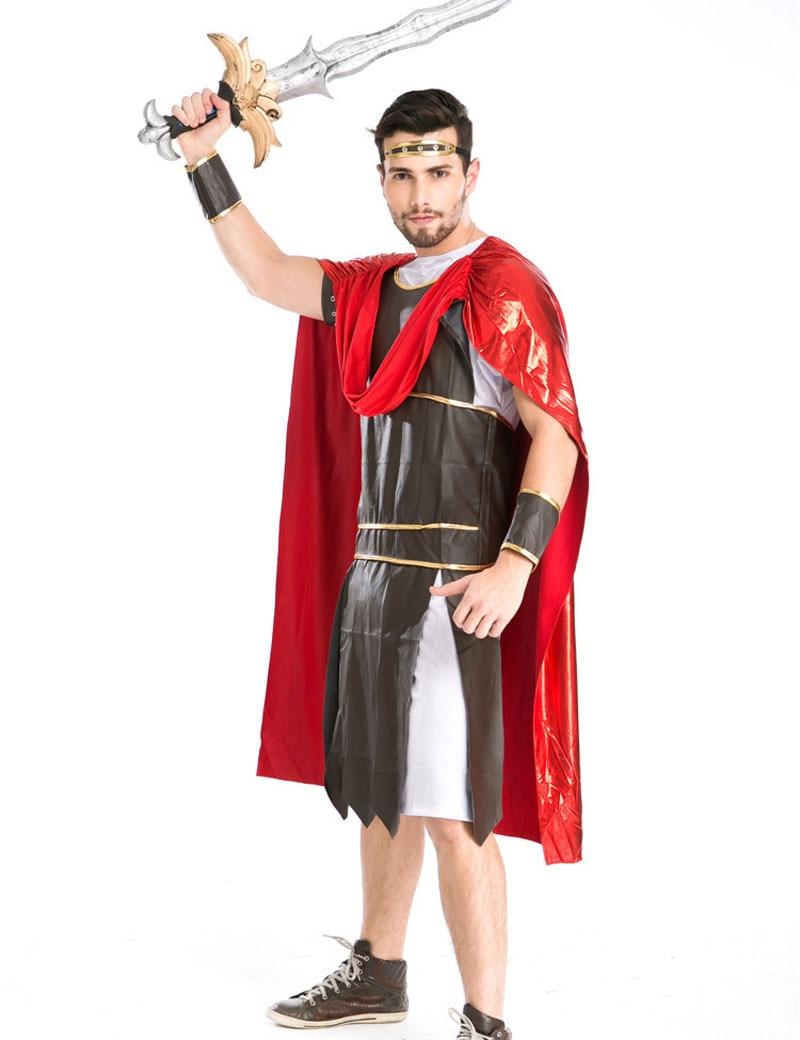 Umorden Halloween Carnival Men Roman Soldier Gladiator Spartan