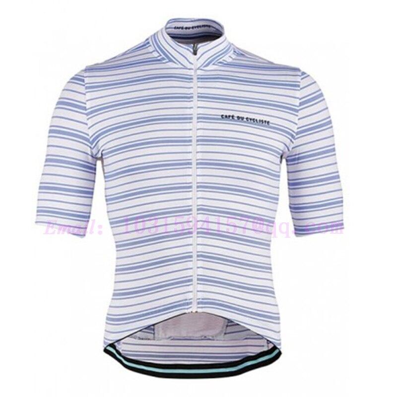 CAFE DU CYCLISTE custom cycling jersey summer aero tops wear bike suit gear kit bicicleta jacket ropa ciclismo maillot gel pad
