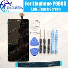 Elephone P9000 ЖК-дисплей Дисплей + Сенсорный экран 100% оригинал ЖК-дисплей планшета Стекло Панель Замена для Elephone P9000 + Инструменты + клей