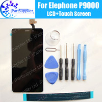 Elephone P9000 LCD Display Touch Screen 100 Original LCD Digitizer Glass Panel Replacement For Elephone P9000