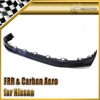 EPR Car Styling For Nissan R35 GTR Carbon Fiber Zele Style Front Bumper Lip Fit 2012 On Accessories Racing