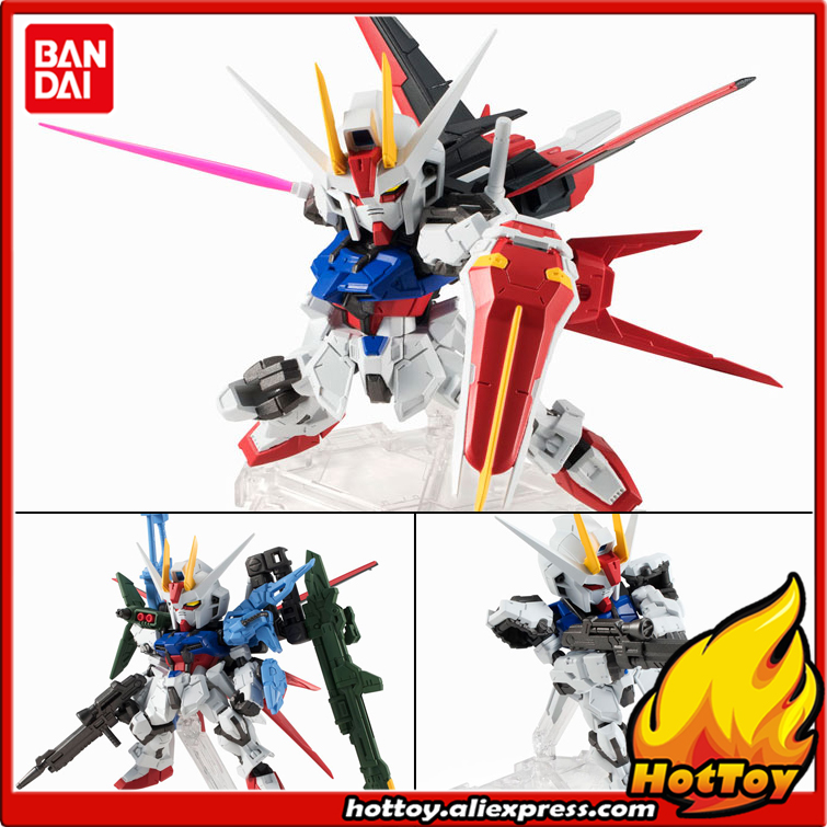 100% Original BANDAI Tamashii Nations NXEDGE STYLE Action Figure - Perfect Strike Gundam original bandai tamashii nations robot spirits exclusive action figure rick dom char s custom model ver a n i m e gundam