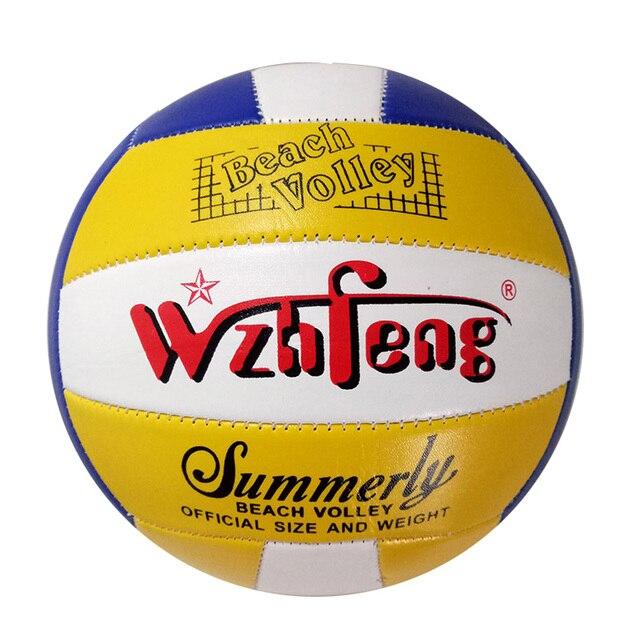 Tamaño estándar oficial 5 Airsoft PU Voleyball Handball al aire libre playa voleibol pelota interior entrenamiento de softbol regalo de Navidad