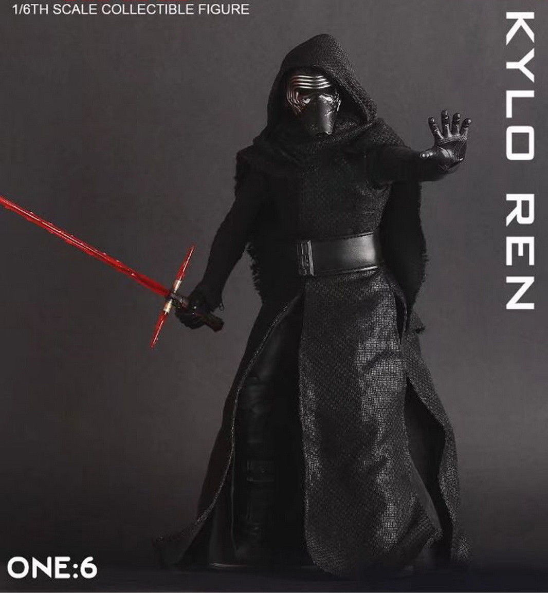 Crazy Toys 1/6TH SCALE Star Wars Kylo Ren Model Action Figure Toy Doll Statue New In Retail Box new hot star wars 7 the force awakens kylo ren pvc action figure collectible model toy 16cm