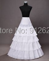 2015 модные Fantastic сказки белые четыре слоя долго юбка
