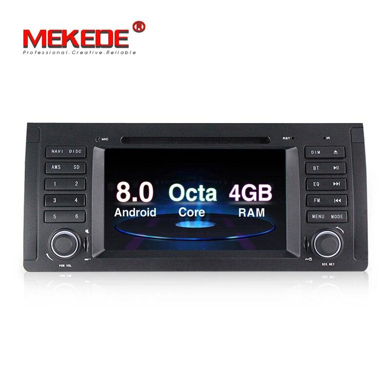 4g RAM PX5 Android 8.0 Voiture radio stéréo GPS Lecteur Pour BMW X5 E39 E53 avec wifi BT DVD radio lecteur multimédia livraison gratuite