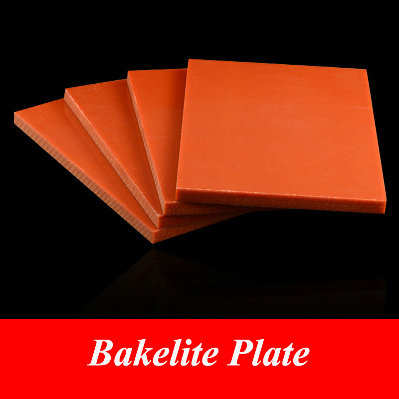 3mm x 500mm x 500mm Bakelite Phenolic Resin Flat Plate Sheet for PCB Mechanical