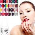 168 Цвет УФ-Гель Лак Для Ногтей профессиональные bling лак для ногтей гелем LED 6 мл Горячей шелушиться лак для ногтей Сияющий Цвет protection long
