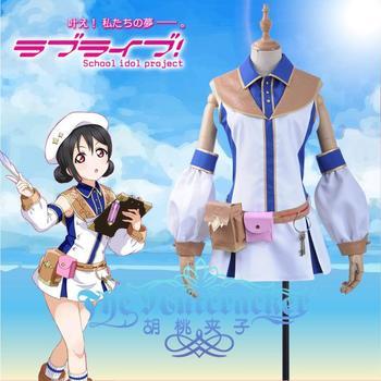 Anime! Lovelive RPG Unawakened Yazawa Niko Lovely Loilta Dress Sexy Uniform Cosplay Costume Custom-made Size Free Shipping