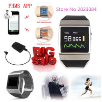Free Shipping CONTEC CE CMS50K Smart Fashion Wearable Wireless Bluetooth SpO2/ECG Monitor Popular
