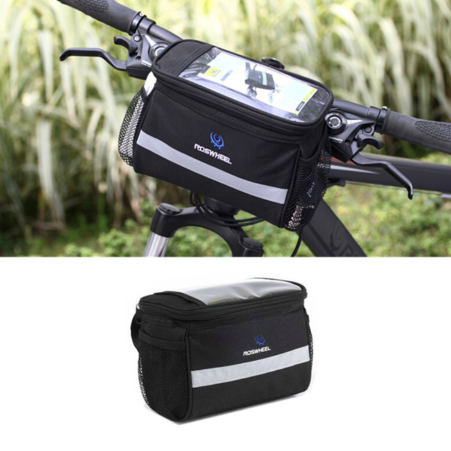 Waterproof Bike Bag Frame Front Head Top Tube Outdoor Sport Cycling Mountain Bag Pannier Rack Basket Bike Handlebar Bag