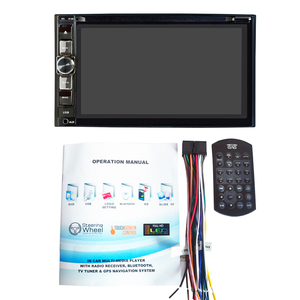 Image 5 - HEVXM 2126 6.2 inch Car radio Car multifunction DVD Player Bluetooth Car DVD Player 2 Din Car DVD Player Reversing Priority