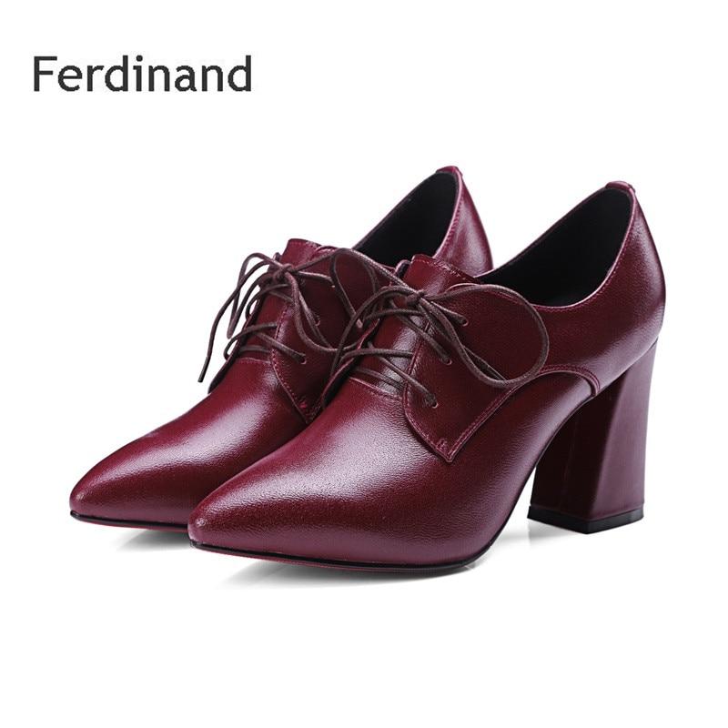 Black Leather Ladies Shoe Boots