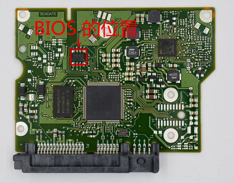 HDD PCB for Seagate Logic Board/Board Number: 100717520 REV B