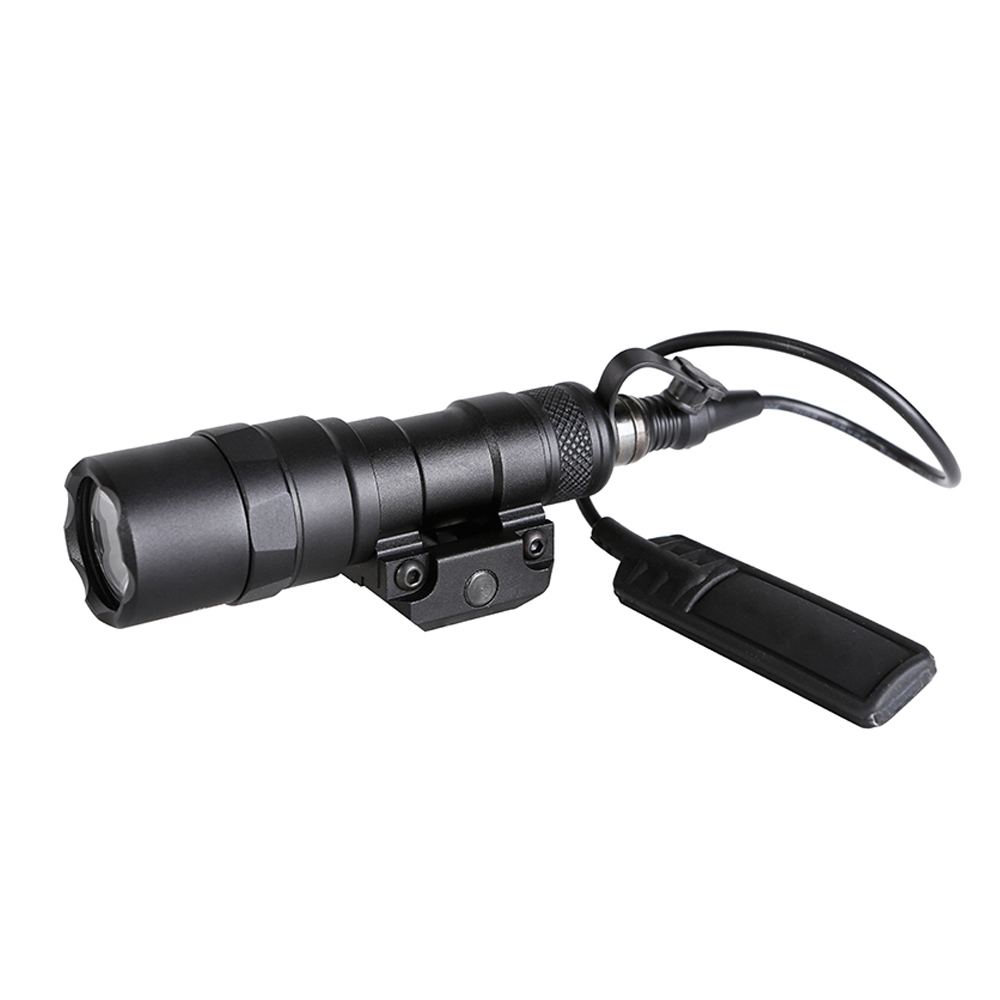 SPINA OPTICS Tactical M300 MINI Scout Light Outdoor Rifle Hunting Flashlight 400 lumen Weapon Light LED